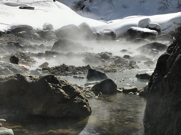 切明温泉への旅