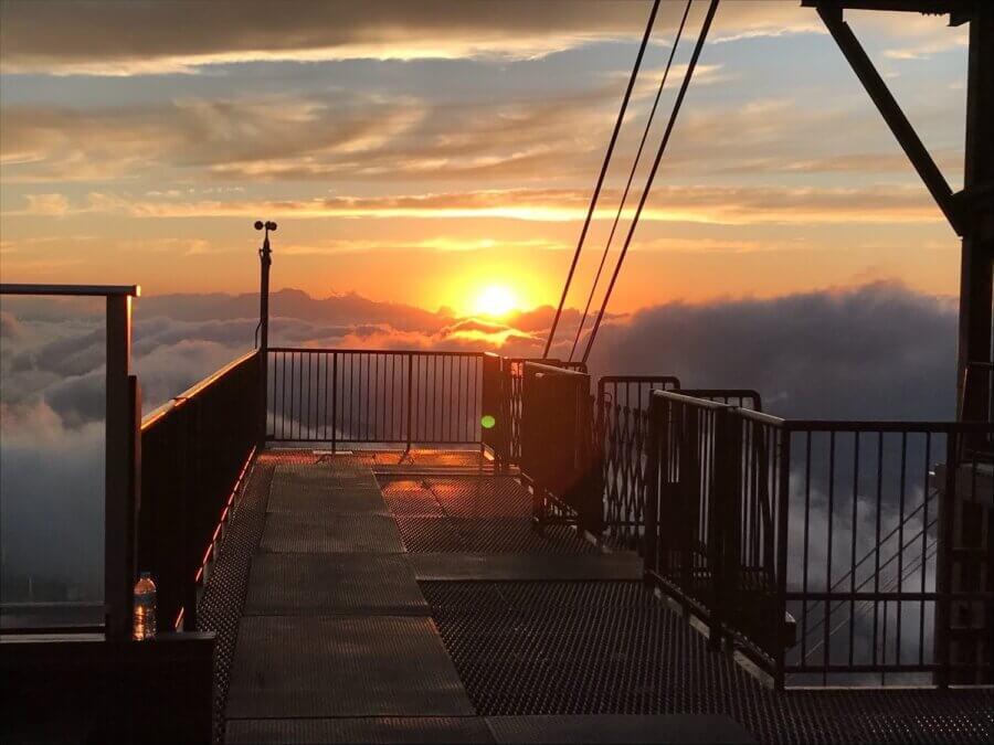 雲海への旅